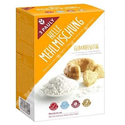 Amestec de fainuri fara gluten si lactoza 3 Pauly, 800 g, Haus Rabenhorst