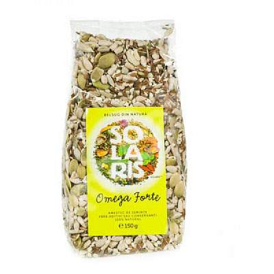 Amestec de seminte Omega Forte, 150 g, Solaris