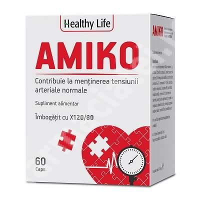 Amiko Healthy Life, 60 cpasule, Bioplus Life