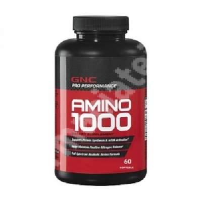 Amino 1000 Pro Performance (573966), 60 capsule, GNC