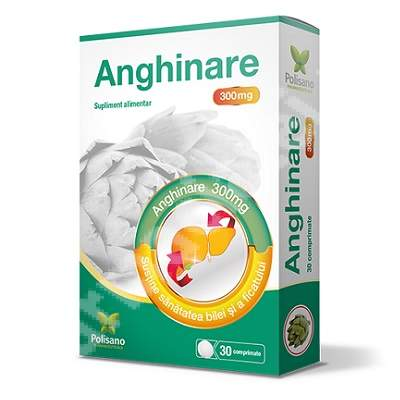 Anghinare 300 mg, 30 comprimate, Polisano