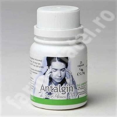 Antalgin, 25 capsule, Pro Natura