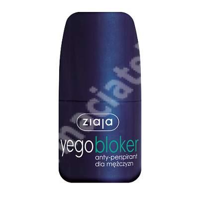 Antiperspirant blocant Yego Blocker Men, 60 ml, Ziaja