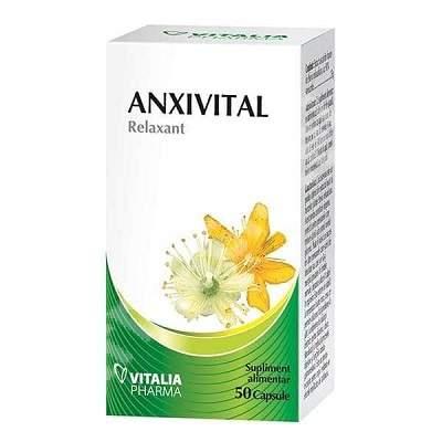 Anxivital, 50 capsule, Vitalia