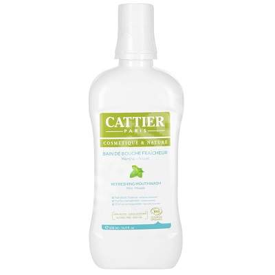 Apa de gura Bio antibacteriana, 500 ml, Cattier