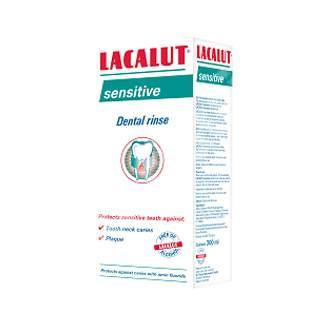 Apă de gură Lacalut Sensitive, 300 ml, Theiss Naturwaren