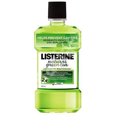 Apă de gură Listerine Green Tea, 250 ml, Johnson&Johnson