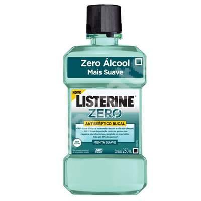 Apă de gură, Listerine Zero, 250 ml, Johnson&Johnson