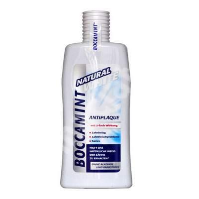 Apă de gură - Natural White, 500 ml, Boccamint