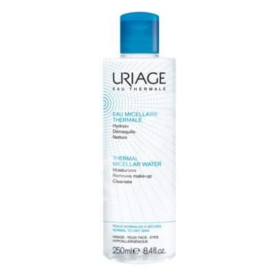 Apa demachiantă pentru piele normală și uscată, 250 ml, Uriage