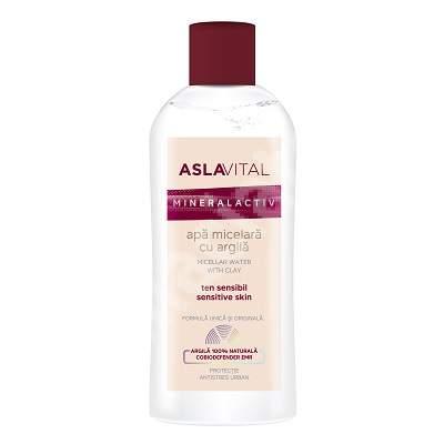 Apa micelara cu argila AslaVital, 150 ml, Farmec
