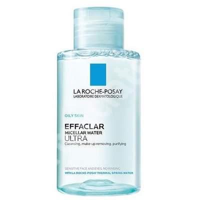 Apa micelara pentru ten gras Effaclar Ultra, 100 ml, La Roche-Posay
