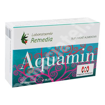 Aquamin, 30 comprimate, Remedia
