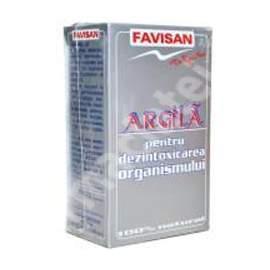 Argila pulbere, 100 g, Favisan