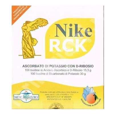 Ascorbat de potasiu cu D-Riboza Nike RCK, 100 plicuri, New Mercury