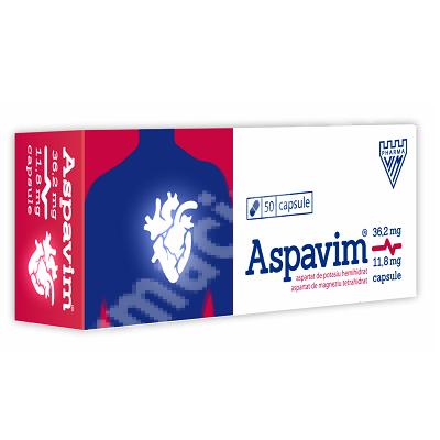 Aspavim, 50 capsule, Vim Spectrum