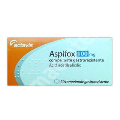 Aspifox 100 mg, 30 comprimate, Actavis