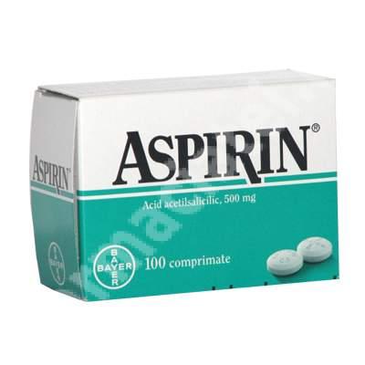 Aspirin, 100 comprimate, Bayer