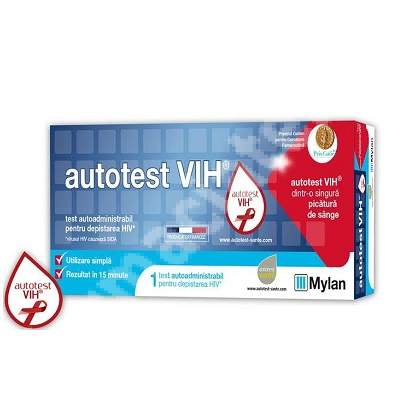 Autotest VIH, 1 test, Mylan