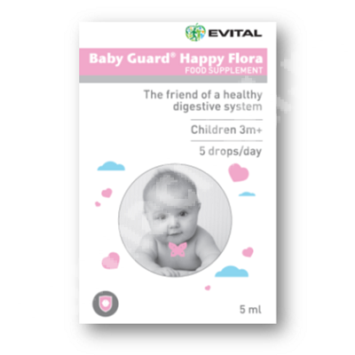 Baby Guard Happy Flora, 5 ml, Evital