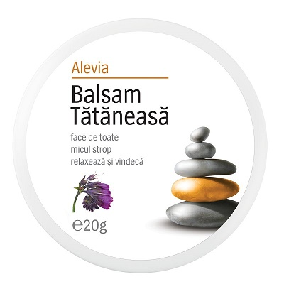 Balsam de Tătăneasa, 20g, Alevia