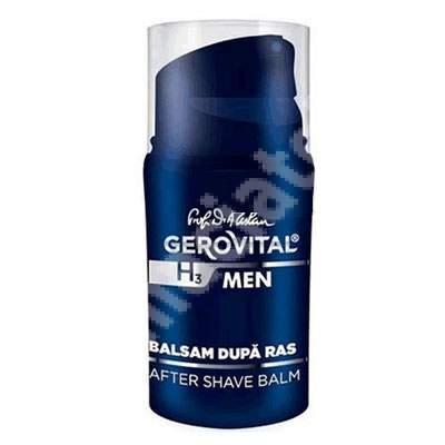Balsam dupa ras Gerovital H3 Men, 50 ml, Farmec