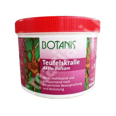 Balsam Gheara Dracului Botanis, 500 ml, Glancos