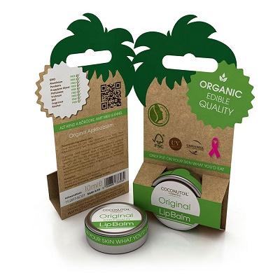Balsam pentru buze Original Bio (LIPO671), 10 ml, Coconutoil