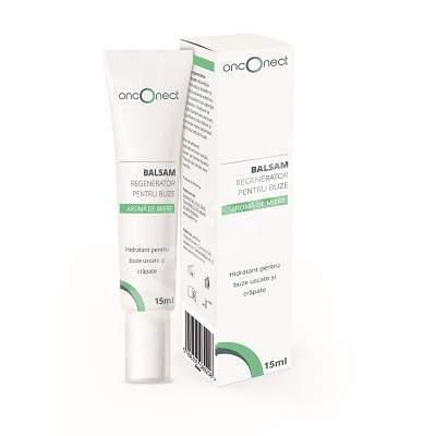 Balsam regenerator pentru buze, Onconect, 15 ml, Gofarm