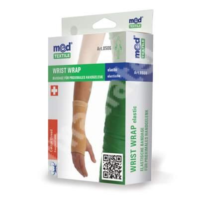 Bandaj elastic pentru incheietura mainii bej, marimea M, 8506, Med Textile