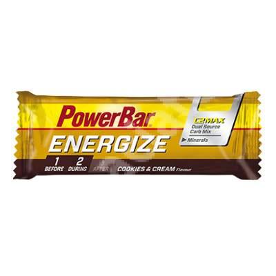 Baton Energize Cookies&Cream, 55 g, PowerBar