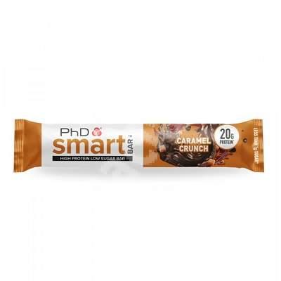 Baton proteic PhD Smart Bar caramel crunch, 64 g, PhD Nutrition