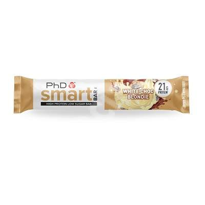 Baton proteic PhD Smart Bar White Choc Blondie, 64 g, PhD Nutrition
