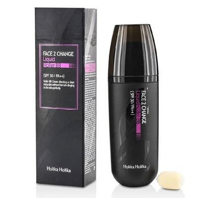 BB Cream lichid cu aplicator roller SPF30 PA++ Face 2 Change nuanța 23, 30 ml, Holika Holika