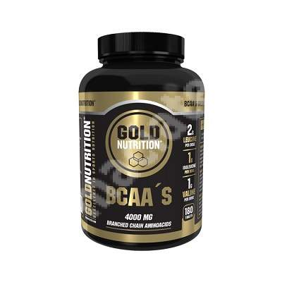 BCAA, 180 tablete, Gold Nutrition
