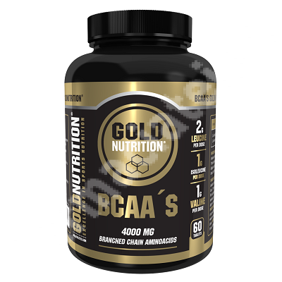 BCAA, 60 tablete, Gold Nutrition
