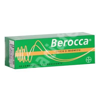 Berocca - Calciu și magneziu, 10 comprimate, Bayer