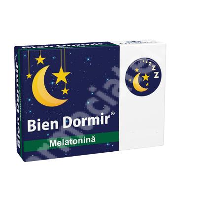 Bien Dormir + melatonina, 21 capsule, Fiterman Pharma