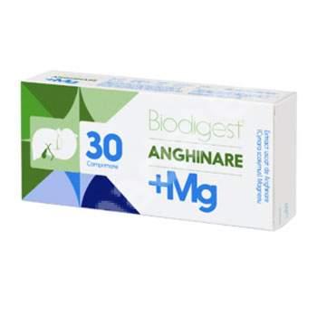 Biodigest Anghinare + Mg, 30 comprimate, Biofarm