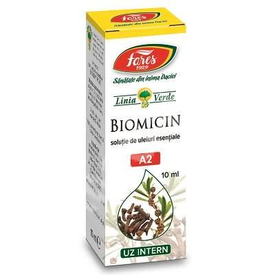 Biomicin solutie, A2, 10 ml, Fares