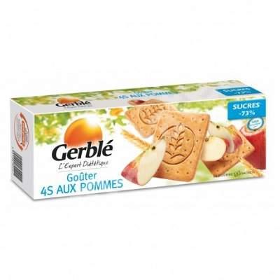 Biscuiti cu continut redus de zaharuri cu mere Gerble, Nutrition & Sante