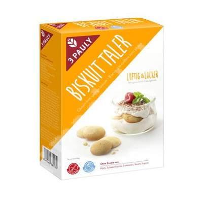 Biscuiti de casa fara gluten 3Pauly, 145 g, Haus Rabenhorst