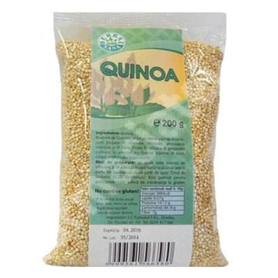Boabe de Quinoa, 200 g, Herbavit