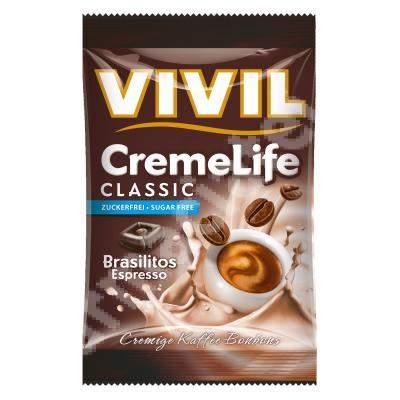 Bomboane cremoase cu aroma de cafea Espresso, 110 g, Vivil