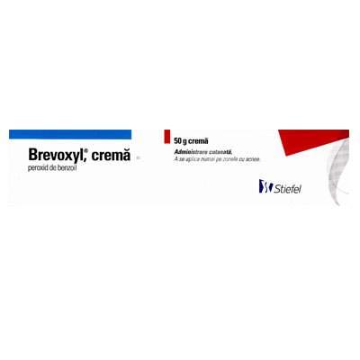 Brevoxyl crema, 50 g, Stiefel