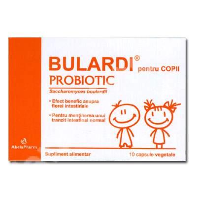 Bulardi Probiotic, pentru copii, 10 capsule, Abela Pharma