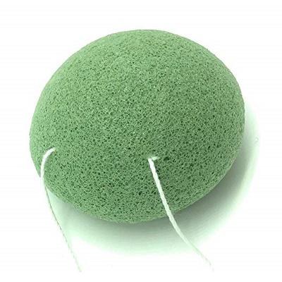 Burete de față din fibre naturale Konjac esența ceai verde, Belmar Enterprises