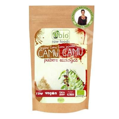 Camu Camu pulbere Ecologica, 60 g, Obio