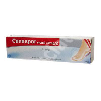 Canespor 10mg cremă, 15 g, Bayer