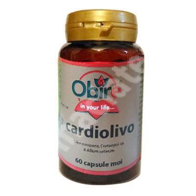 Cardiolivo, 60 capsule, Obire